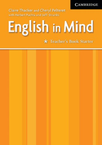 9780521750424: English in Mind Starter Teacher's Book