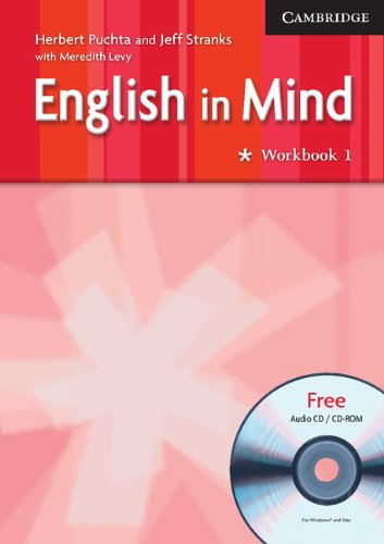 9780521750509: English in Mind Level 1 Workbook with Audio CD/CD ROM