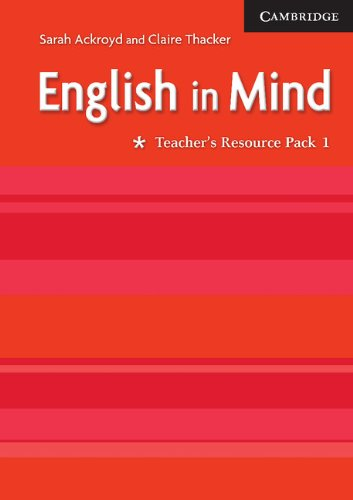9780521750523: English in Mind 1 Teacher's Resource Pack