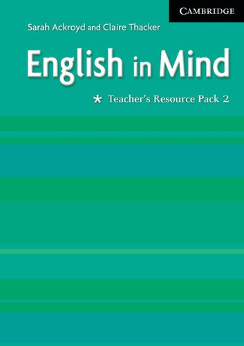 9780521750615: English in Mind 2 Teacher's Resource Pack