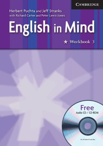 English in Mind 3 Workbook with Audio CD/CD ROM: Herbert Puchta and Jeff Stranks