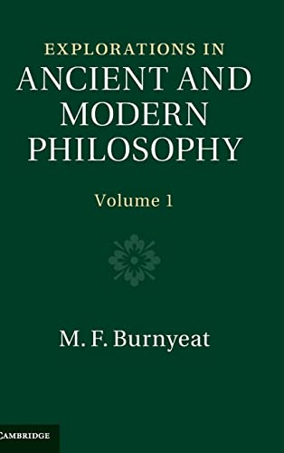 9780521750721: Explorations in Ancient and Modern Philosophy (Volume 1)