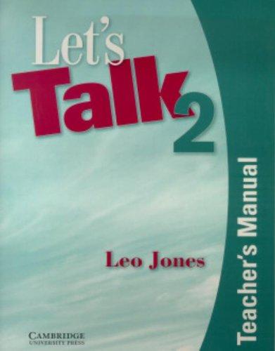 9780521750752: Let's Talk 2 Teacher's Manual