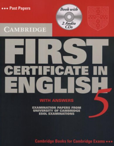 9780521750905: Cambridge First Certificate in English 5 Self-Study Pack: Examination Papers from the University of Cambridge Local Examinations Syndicate: Student Book with Answers (FCE Practice Tests)
