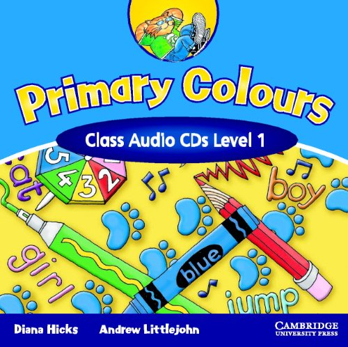 Primary Colours 1 Class Audio CDs (Primary
