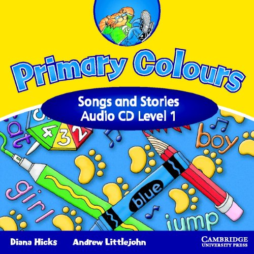 9780521751018: Primary Colours 1 Songs and Stories Audio CD