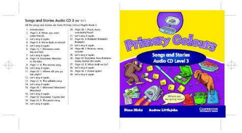 9780521751032: Primary Colours 3 Songs and Stories Audio CD