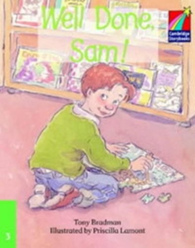 9780521752152: CS3: Well Done Sam! ELT Edition (Cambridge Storybooks)