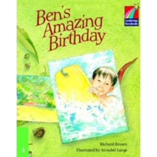 9780521752596: CS3: Ben's Amazing Birthday ELT Edition (Cambridge Storybooks)