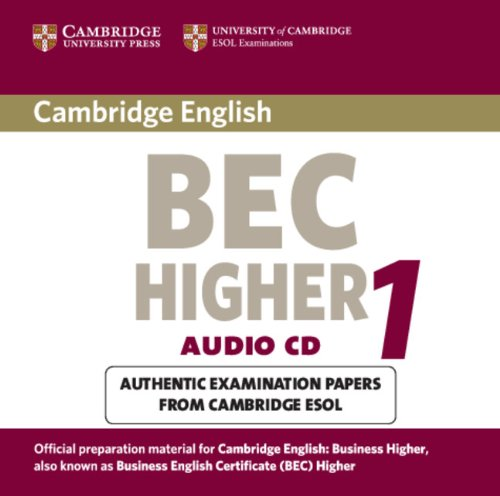 9780521752916: Cambridge BEC Higher Audio CD: Practice Tests from the University of Cambridge Local Examinations Syndicate (BEC Practice Tests)