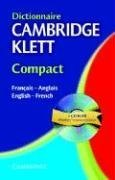 9780521752961: Dictionnaire Cambridge Klett Compact Français-Anglais/English-French with CD-ROM (English and French Edition)