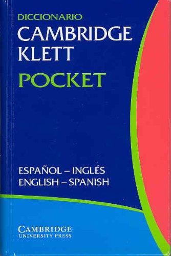 9780521753005: Diccionario Cambridge Klett Pocket Espa�ol-Ingl�s/English-Spanish Flexicover