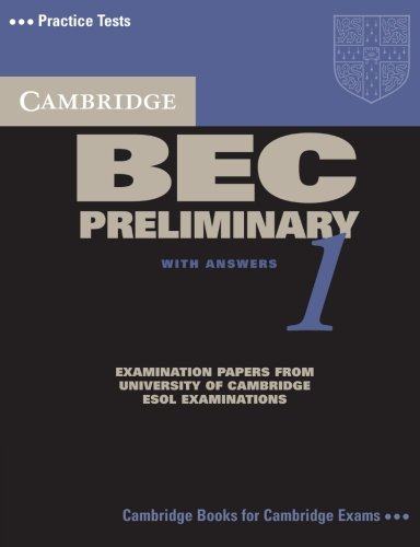 9780521753012: Cambridge BEC preliminary. Per gli Ist. tecnici e professionali: Cambridge BEC Preliminary 1: Practice Tests from the University of Cambridge Local Examinations Syndicate (BEC Practice Tests)