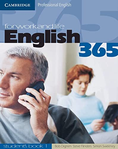 9780521753623: English365 1 Student's Book: For Work and Life (Cambridge Professional English)