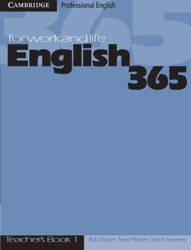 9780521753630: English365 1 Teacher's Guide: For Work and Life (Cambridge Professional English)