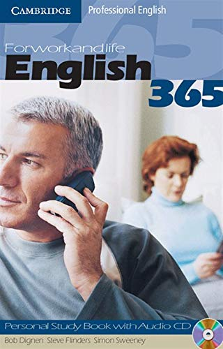 9780521753647: English365 1 Personal Study Book with Audio CD: For Work and Life (Cambridge Professional English)
