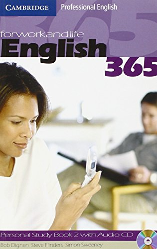 9780521753692: English 365. Personal study book. Con CD Audio. Per le Scuole superiori: English365 2 Personal Study Book with Audio CD (Cambridge Professional English)