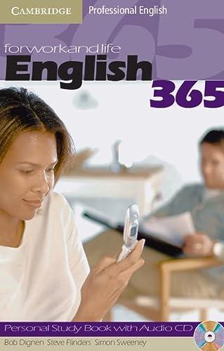 9780521753692: English 365. Personal study book. Con CD Audio. Per le Scuole superiori: 2