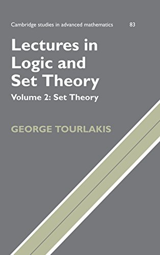 9780521753746: Lectures in Logic and Set Theory, Volume 2: Set Theory (Cambridge Studies in Advanced Mathematics)
