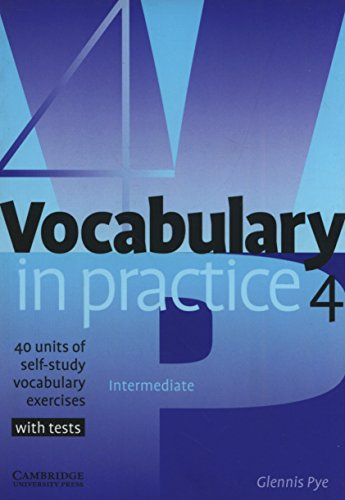 9780521753760: Vocabulary in Practice 4