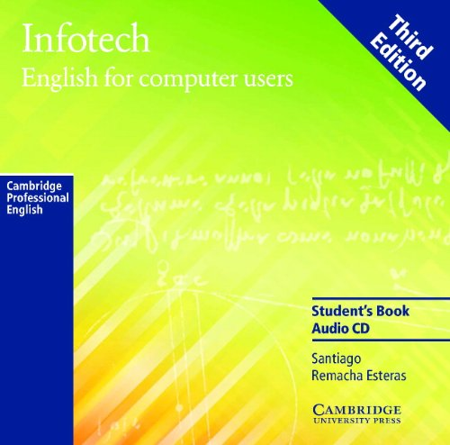 9780521754316: Infotech Audio CD: English for Computer Users
