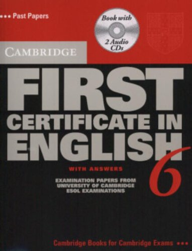 9780521754453: Cambridge First Certificate in English 6 Self-Study Pack: Examination Papers from the University of Cambridge ESOL Examinations (FCE Practice Tests)