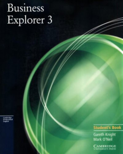 9780521754538: Business Explorer 3 Student's Book