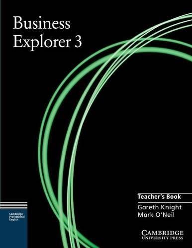 9780521754545: Business Explorer 3 Teacher's Book