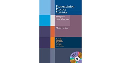 9780521754576: Pronunciation Practice Activities Book and Audio CD Pack: A Resource Book for Teaching English Pronunciation (Cambridge Handbooks for Language Teachers)