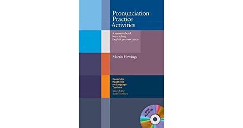 9780521754576: Pronunciation Practice Activities with Audio CD: A Resource Book for Teaching English Pronunciation (Cambridge Handbooks for Language Teachers)