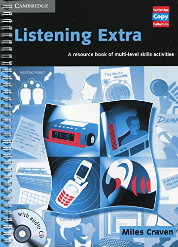9780521754613: Listening Extra Book and Audio CD Pack: A Resource Book of Multi-Level Skills Activities