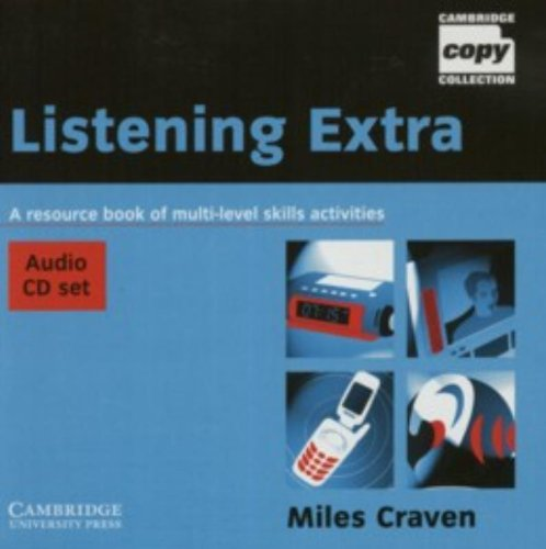 9780521754620: Listening Extra Audio CD Set (2 CDs): A Resource Book of Multi-level Skills Activities (Cambridge Copy Collection)