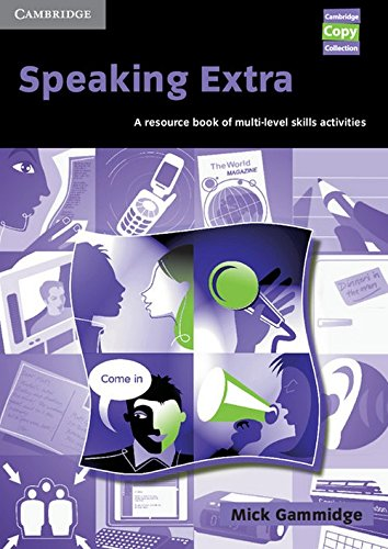 9780521754637: Speaking Extra: A Resource Book of Multi-Level Skills Activities