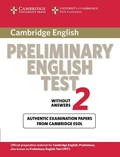 9780521754668: Cambridge Preliminary English Test 2 Student's Book: Examination Papers from the University of Cambridge ESOL Examinations (PET Practice Tests)