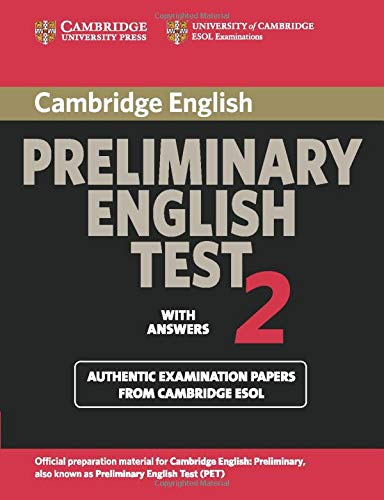 9780521754675: Cambridge Preliminary English Test 2 Student's Book with Answers: Examination Papers from the University of Cambridge ESOL Examinations (PET Practice Tests)