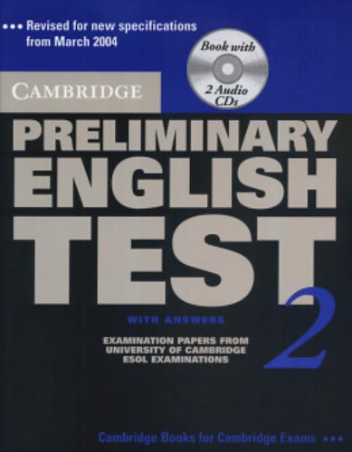9780521754712: Cambridge Preliminary English Test 2nd 2 Self-study Pack: Examination Papers from the University of Cambridge ESOL Examinations: Level 2 (PET Practice Tests)