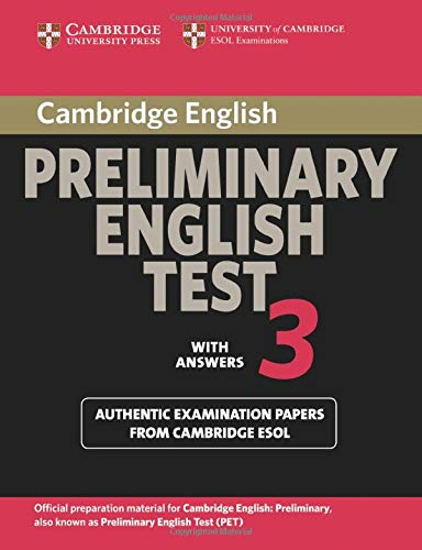 9780521754736: Cambridge Preliminary English Test 3 Student's Book with Answers: Examination Papers from the University of Cambridge ESOL Examinations (PET Practice Tests)