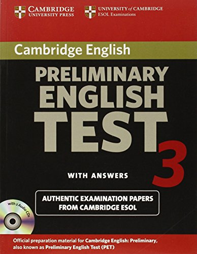 9780521754774: Cambridge Preliminary English Test 3 Self-study Pack: Examination Papers from the University of Cambridge ESOL Examinations (PET Practice Tests)