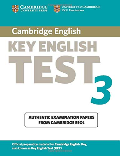 9780521754781: Cambridge Key English Test 3 Student's Book: Examination Papers from the University of Cambridge ESOL Examinations (KET Practice Tests)