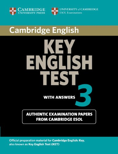 9780521754798: Cambridge Key English Test 3 Student's Book with Answers: Examination Papers from the University of Cambridge ESOL Examinations (KET Practice Tests)