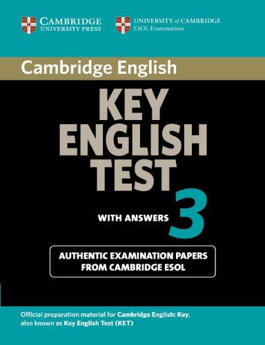 9780521754798: Cambridge key english test. With answers. Per le Scuole superiori: 3
