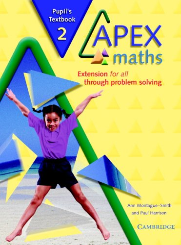 9780521754880: Apex Maths 2 Pupil's Book: Extension for all through Problem Solving
