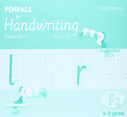 9780521755009: Penpals for Handwriting Foundation 2 Practice Book 1 (Pack of 10)
