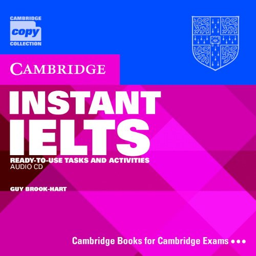 Instant IELTS Audio CD: Ready-to-use Tasks and: Brook-Hart, Guy