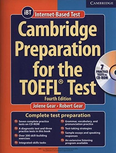 9780521755849: Cambridge Preparation for the TOEFL Test (Book & CD-ROM)