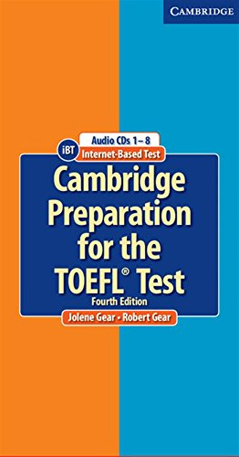 9780521755856: Cambridge Preparation for the TOEFL Test Audio CDs (8)
