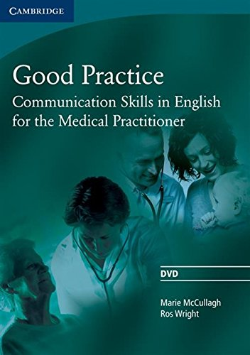 9780521755931: Good Practice DVD: Communication Skills in English for the Medical Practitioner