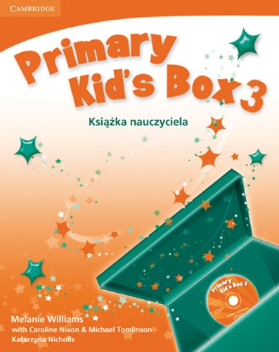 9780521756358: Primary Kid's Box Level 3 Teacher's Book with Audio CD Polish edition