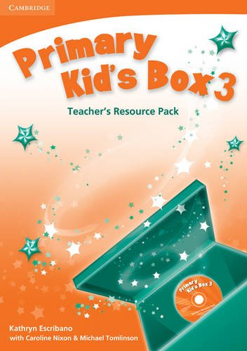9780521756396: Primary Kid's Box Level 3 Teacher's Resource Pack with Audio CD Polish Edition