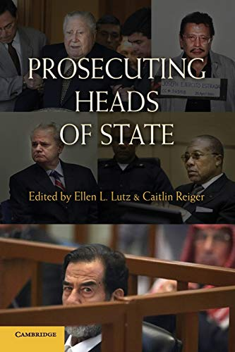 9780521756709: Prosecuting Heads of State